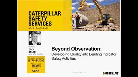 Safety Webinar Developing Quality Leading Indicator