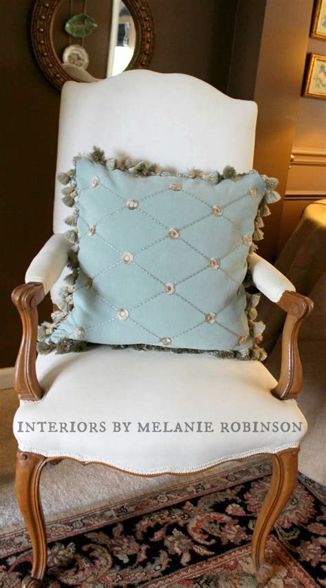 pillow with how to make a throw pillow with fringe