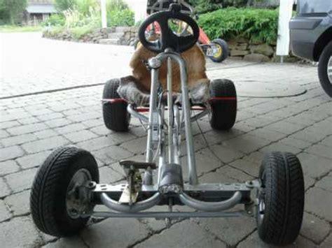 go kart gestell kettcar mit motor
