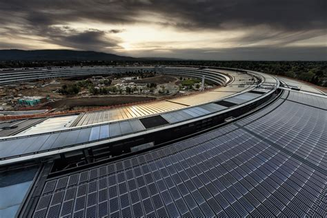 apple park behind the scenes look into apple park shares up close