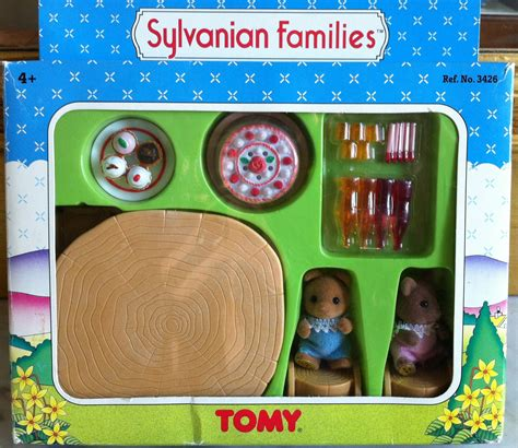 sylvanian families uk baby birthday party set puddles