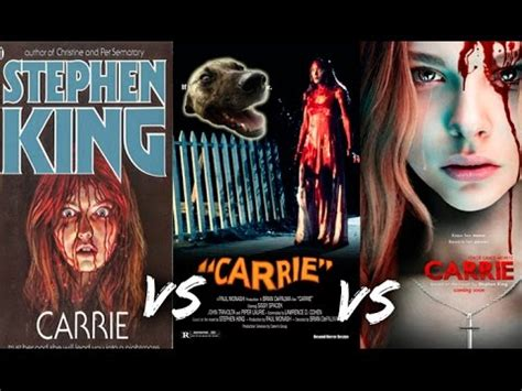libro carrie libro vs pel 237 cula vs remake carrie de stephen king