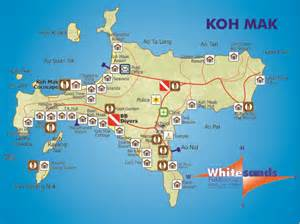 Thailand House For Sale Koh Mak Map Koh Chang Guide