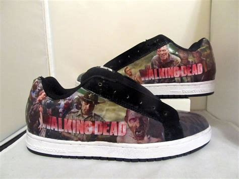 the walking dead slippers s the walking dead dc skate shoes without by