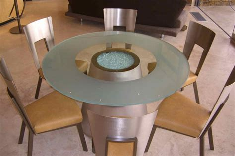 etched glass dining table crystalline sphere glass dining tables sans soucie