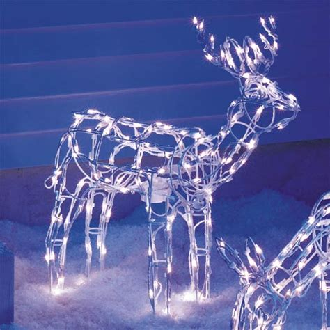 animated lighted reindeer buy decoration product on