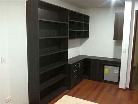 escritorio y biblioteca foto escritorio y biblioteca en l de jr instalaciones