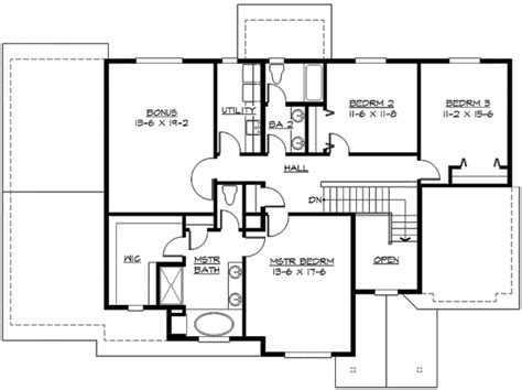 mission style in two versions 36346tx 2nd floor master suite butler walk in pantry cad spacious northwest home plan 23422jd 2nd floor master