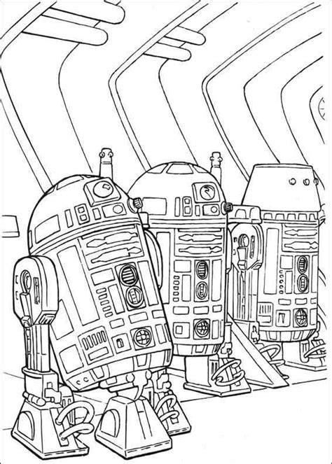 coloring pages of star wars free coloring pages of r2d2 star wars