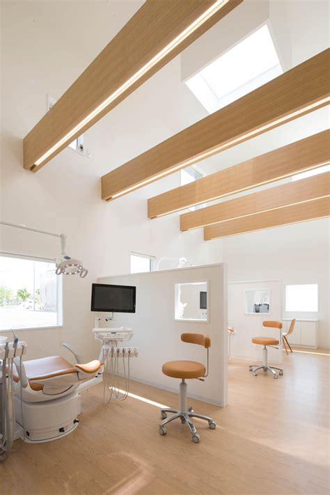 No Ceiling by Gallery Of Yokoi Dental Clinic Iks Design Msd Office 7
