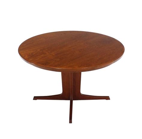 mid century modern dining table with leaves mid century modern teak dining table with two