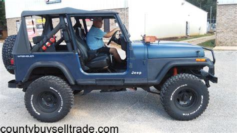 91 Jeep Wrangler Yj 91 Jeep Wrangler Fairhope County Buy Sell Trade