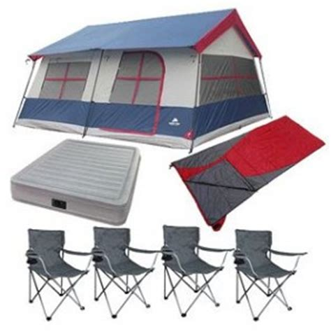ozark trail 3 room vacation home tent ozark trail 3 room tent for 179 free shipping