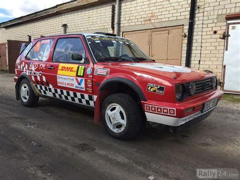 Golf 1 Rally Auto by Volkswagen Golf Rally Autos Verkaufen