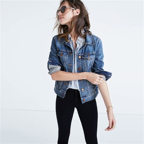 Jaket Denim Amanda Nd madewell jean jacket