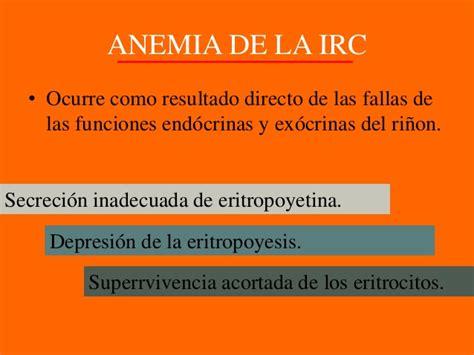 irc section 63 anemias secundarias a padecimientos no hem 225 ticos