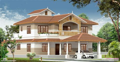 Kerala House Photos With Plans 2700 Sq Kerala Home With Interior Designs Kerala Home Design And Floor Plans
