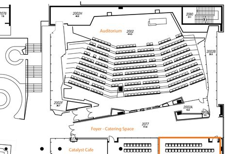 floor plan of auditorium auditorium translational research institute