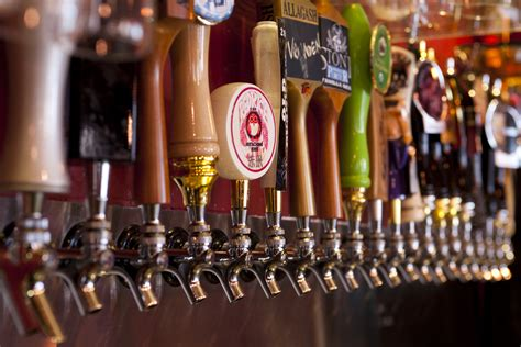 Post Spring Break Special Tea And Beer Brown Bag On Tap Bar