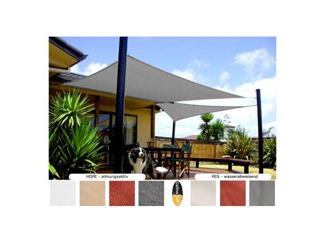 Sonnensegel Sonnenschutz Beschattung Segel Garten Terrasse