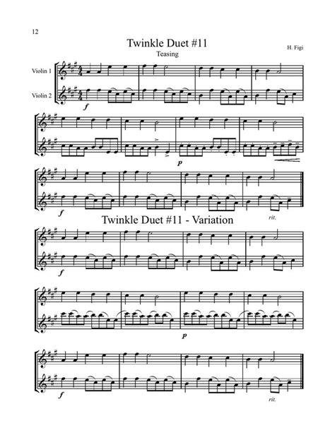 Suzuki Duets For Violins Pdf 1000 Images About Sheet Flute On Violin