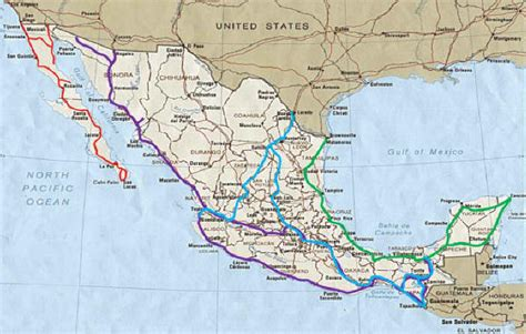 road map mexico on the road in mexico a survival guide for road travel