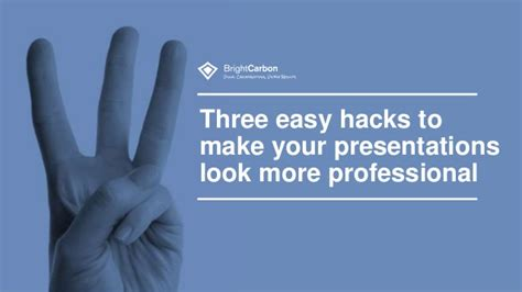 powerpoint design hacks 3 design hacks to make your presentations look more