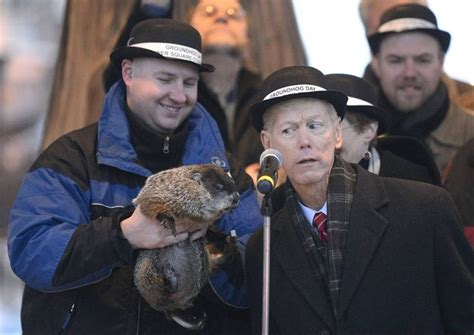 groundhog day woodstock woodstock punxsutawney groundhogs agree on an early