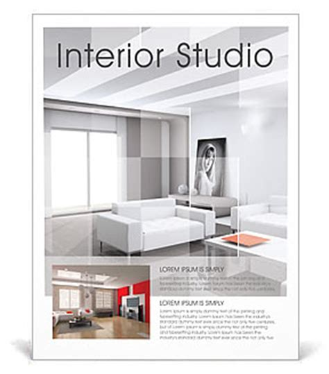 Interior Poster Template & Design ID 0000000910