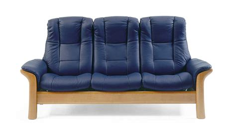 stressless ekornes sofa circle furniture windsor stressless highback sofa