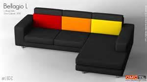 l type sofa bellagio l l shape sofa design by omc