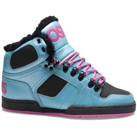 osiris nyc 83 shearling shoes blue black pink free