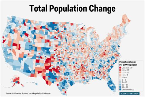 america population map us census county population change map business insider
