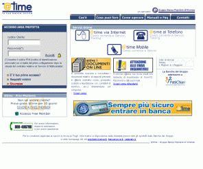 Www Banca Nuova It by Atime It Time