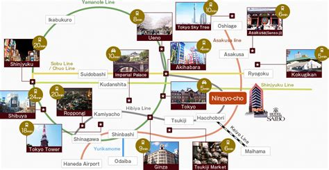 tokyo map tourist attractions maps update 12361258 map of tokyo tourist attractions