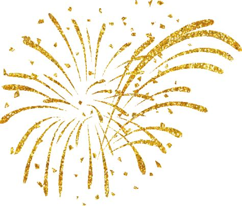 silver confetti vector eps10 overlay transparent stock fireworks clipart golden pencil and in color fireworks
