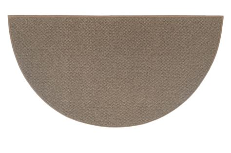 Goods Of The Woods Hearth Rugs by Goods Of The Woods Brown Andiron Half Wool Hearth