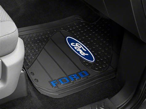 Ford Floor Mat by Trushield Ford Logo F 150 Factory Floor Mat T526386 09 15 Free Shipping