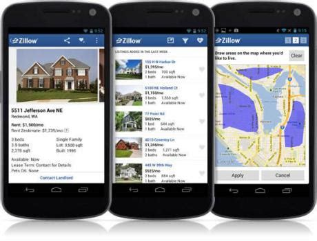 zillow 174 launches new innovative rental app for android
