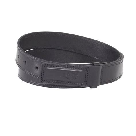new dickies mens leather covered buckle no scratch