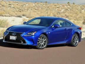 Lexus Rc Sport 2016 Lexus Rc 200t And 350 F Sport Comparison Drive