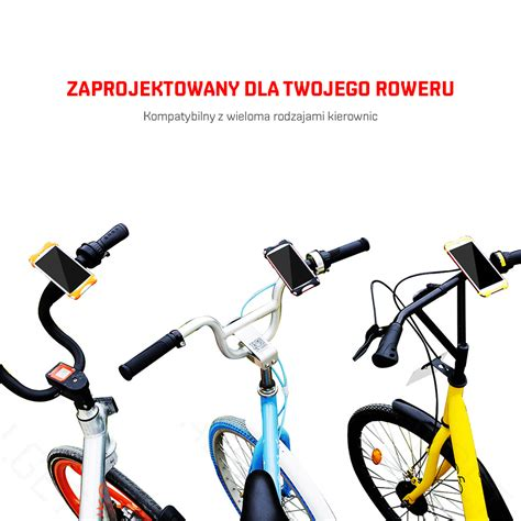 elastyczny uchwyt rowerowy na telefon marki baseus