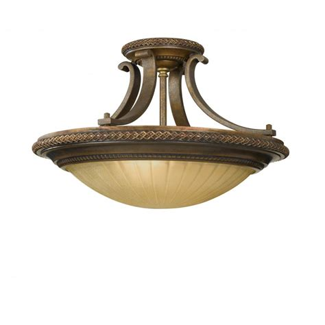 Bronze Uplighter Ceiling Light For Low Ceilings Low Ceiling Lighting