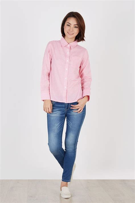 Tas Mk M Berry Motif sell ross shirt pink shirts berrybenka