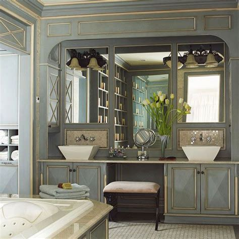 charming Double Vanity With Makeup Station #3: 7c37edda0a456b3b5572db1f63920c70.jpg