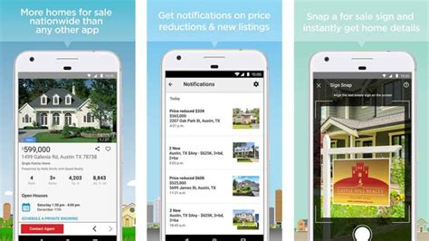 realtor app android 5 best house apps and real estate apps for android vondroid community