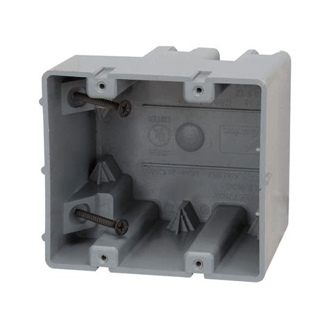 home electric box electric products smart box 2 adjustable depth device box msb2g the home depot