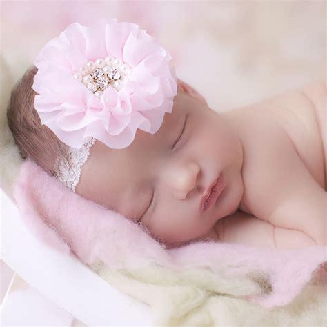 Headband Baby Flower Pink pink chiffon flower headband childrensalon