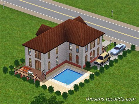 house of fan page l shaped house the sims fan page