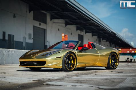 gold ferrari wallpaper black and gold ferrari 15 widescreen wallpaper